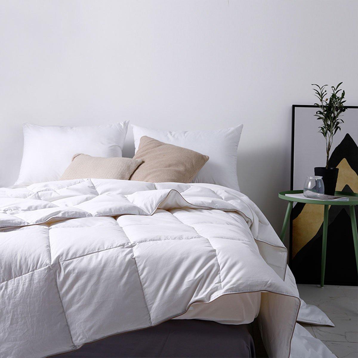 斯诺曼斯诺曼2019新款被芯95%白鹅绒空调被子 薄款羽绒被 夏被COLOR白色