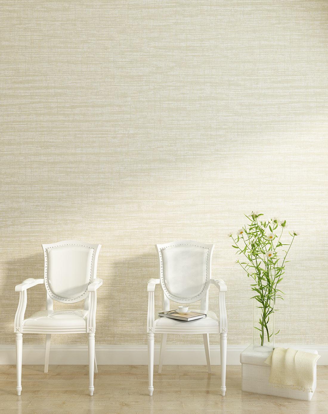 米色美式复古约克风客厅卧室通用墙纸