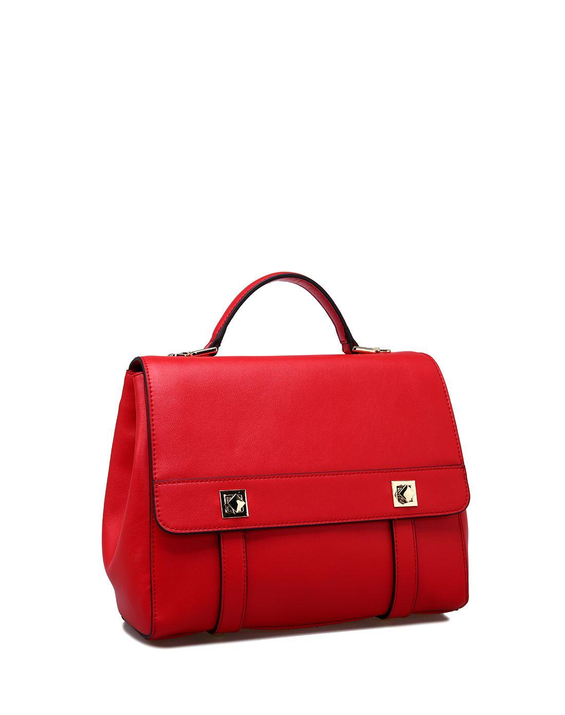 红色R手提包-红色R