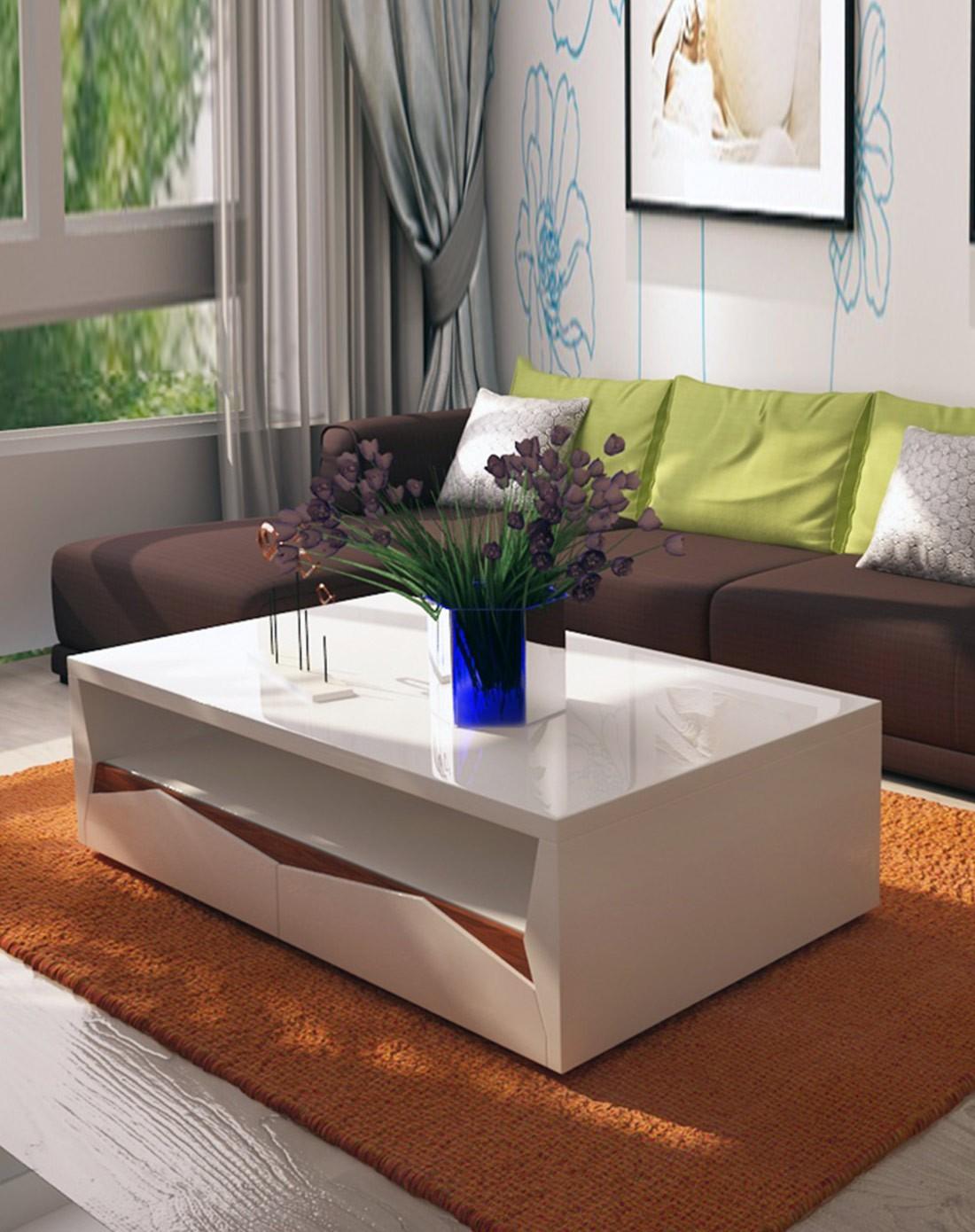 棱角设计客厅家具茶几