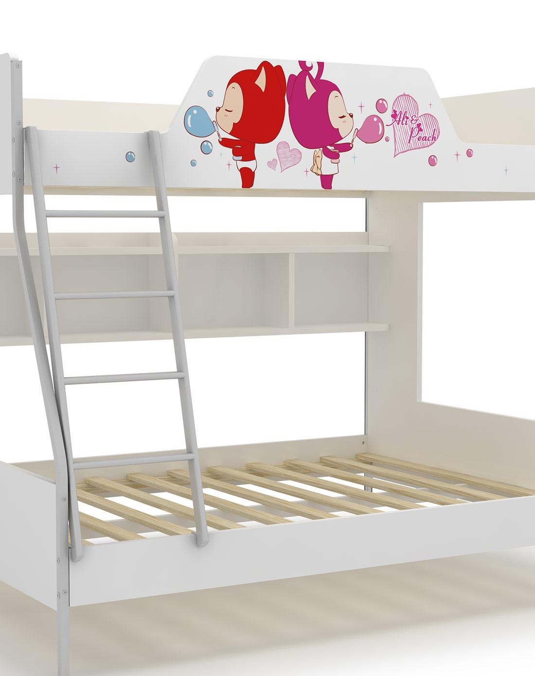 阿狸梦幻童话 1.5米高低床(不包含梯柜和拖箱)