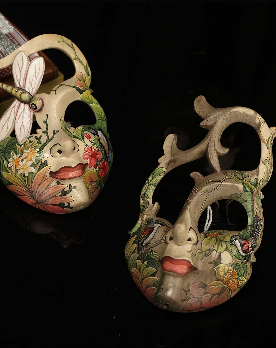 手绘面具摆件*可挂可摆*威尼斯风格
