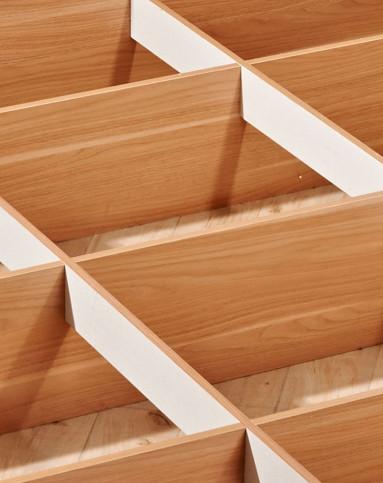 和风系列1.8米实木板式床