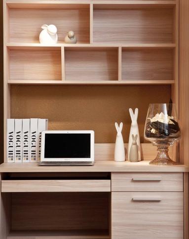 时尚美居voguh家具书柜书桌直角电脑桌组合s5104