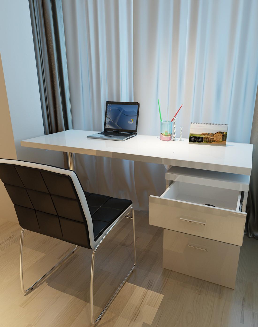 家用办公电脑桌自由安装 不含椅子