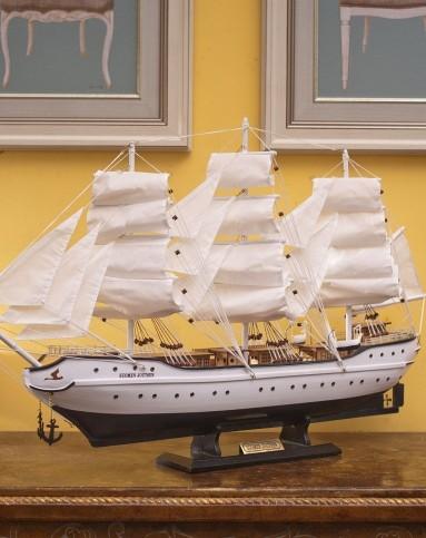 racekish芮诗凯诗手工制作实木帆船特大号rbj05371