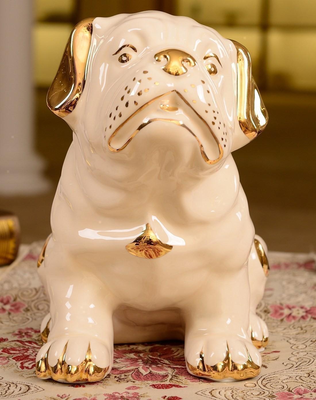 朵兰舍doolans欧式描金陶瓷动物摆件jc10161-1