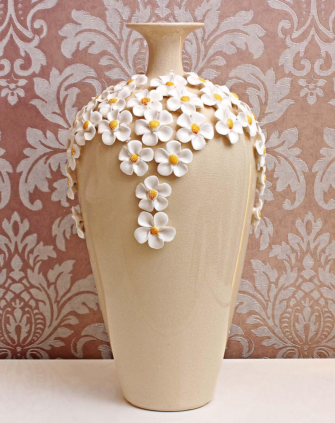 简欧现代经典陶瓷花瓶图片