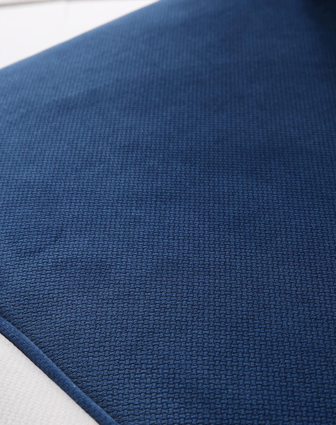 蓝色魅惑图片_蓝色魅惑布艺沙发凳