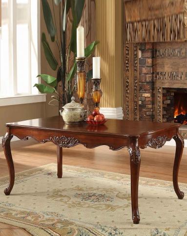 美式实木餐桌