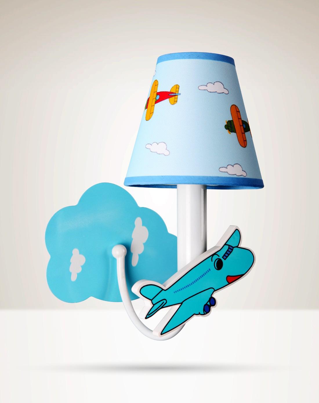 飞机系列壁灯创意卡通立体造型儿童壁灯送光源