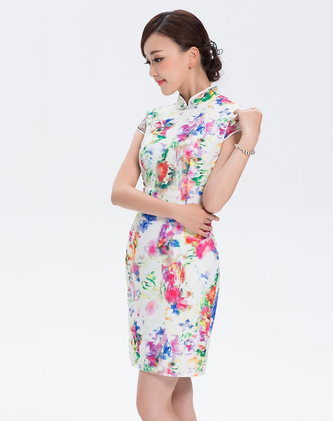 绯云 旗袍裙