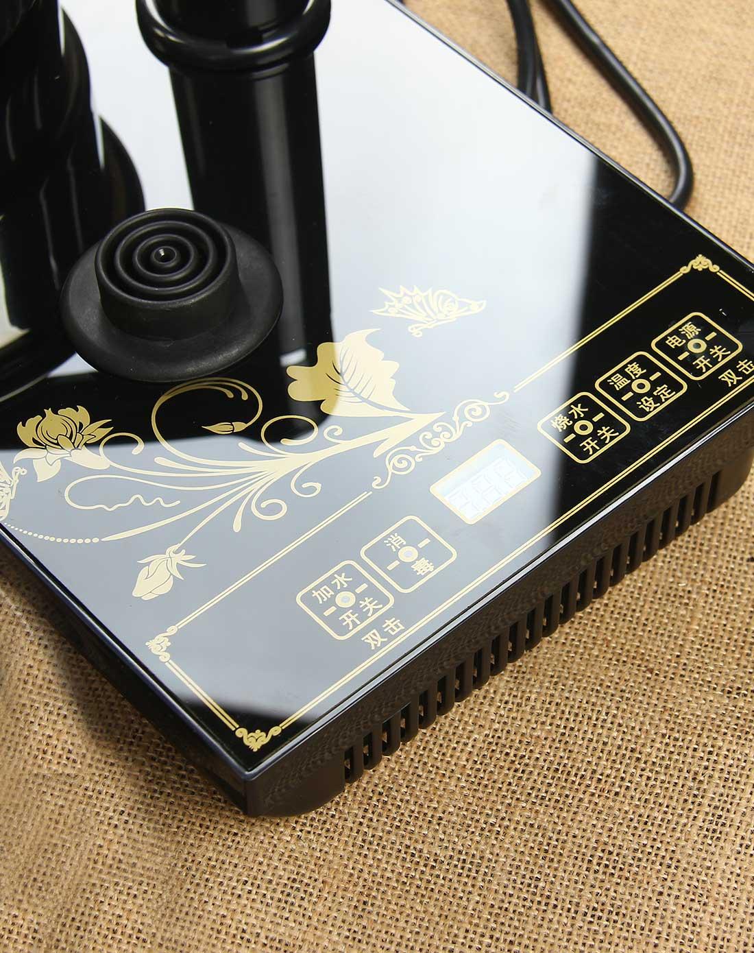 酷睿黑中华双炉 3合1自动抽水电热壶图片