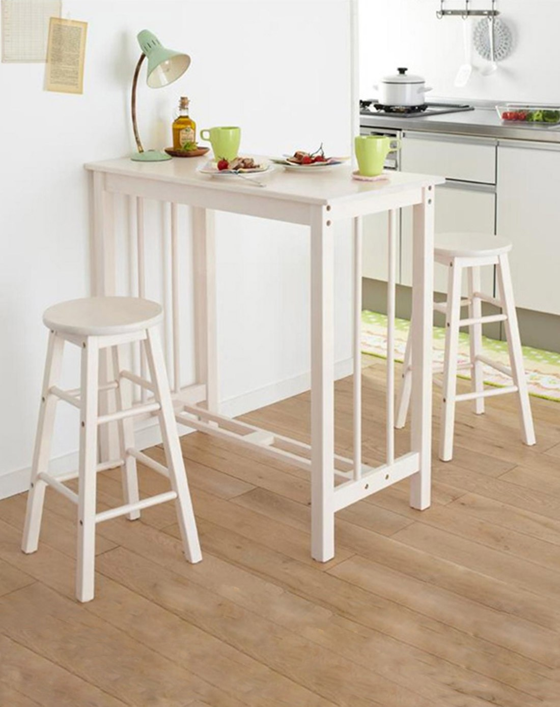 进口实木早餐桌吧桌 吧凳