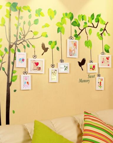 幼儿园相片墙边框设计
