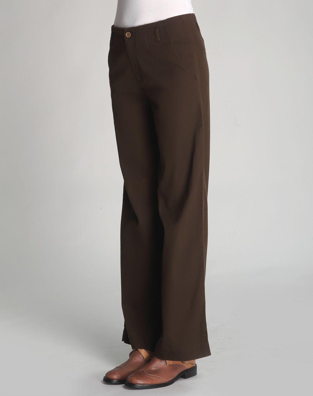 阔腿长裤女