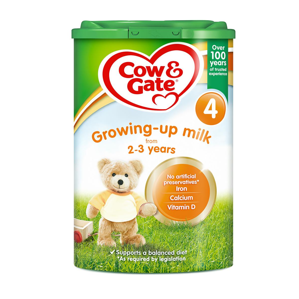 【官方溯源】Cow&Gate英国牛栏婴幼儿配方奶粉4段2-3岁800g