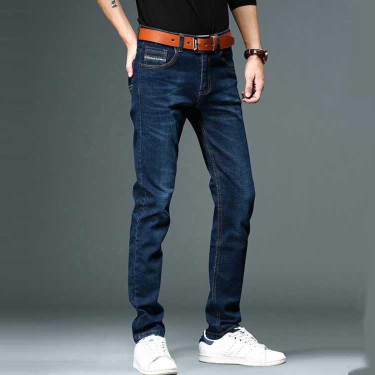 【超薄透气】2021年夏季新款男士牛仔裤直筒潮流休闲牛仔裤
