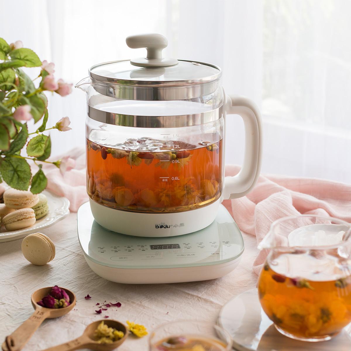 【新年礼物】小熊养生壶全自动煮茶加厚玻璃多功能保温电热烧水壶