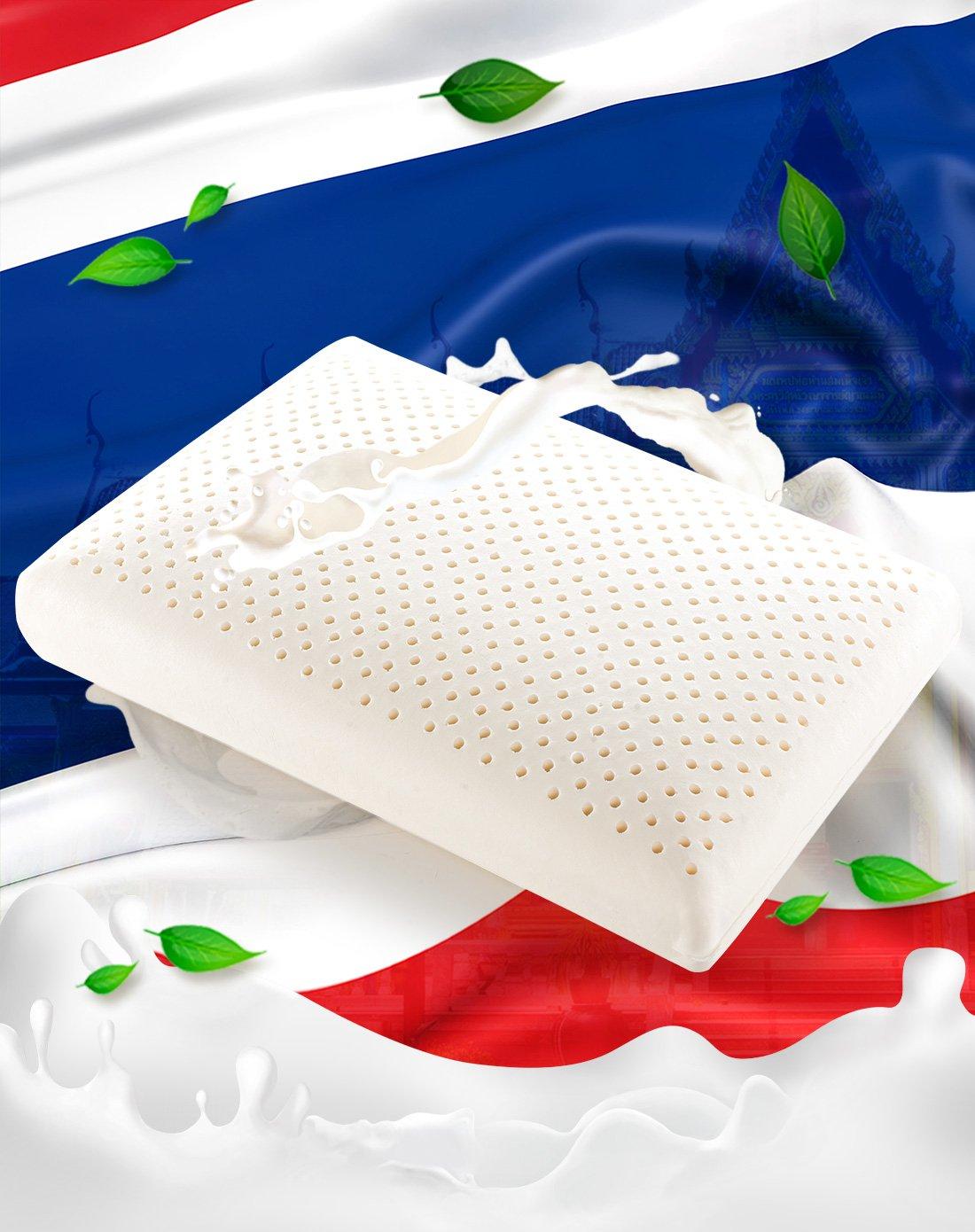 泰国乳胶枕_WOW!精选Paratex乳胶枕泰国进口天然乳胶面包枕枕头乳胶枕