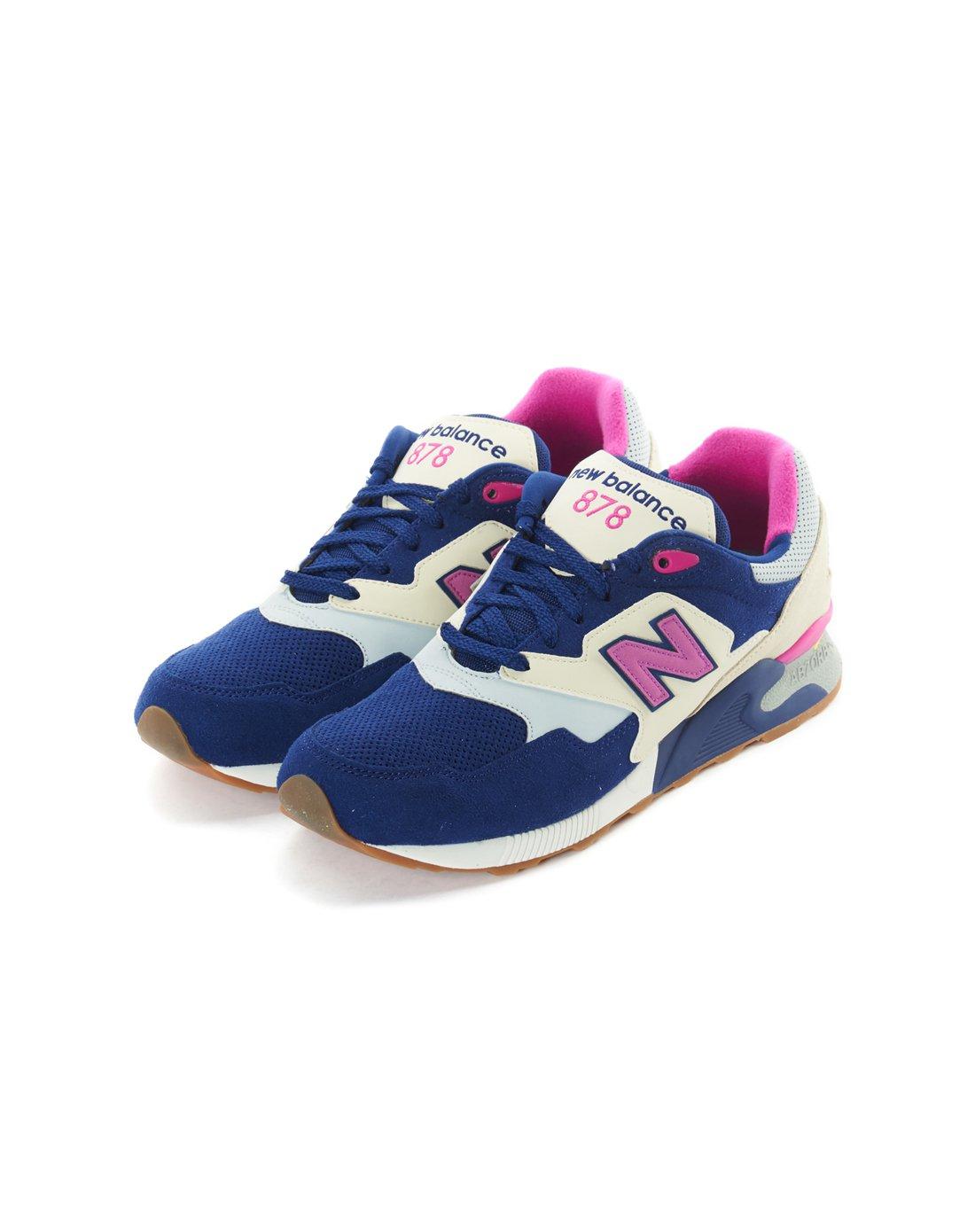 d2d265d41688 New BalanceNew Balance 878系列中性款藏青色 浅蓝色运动鞋ML878MBP 唯品会