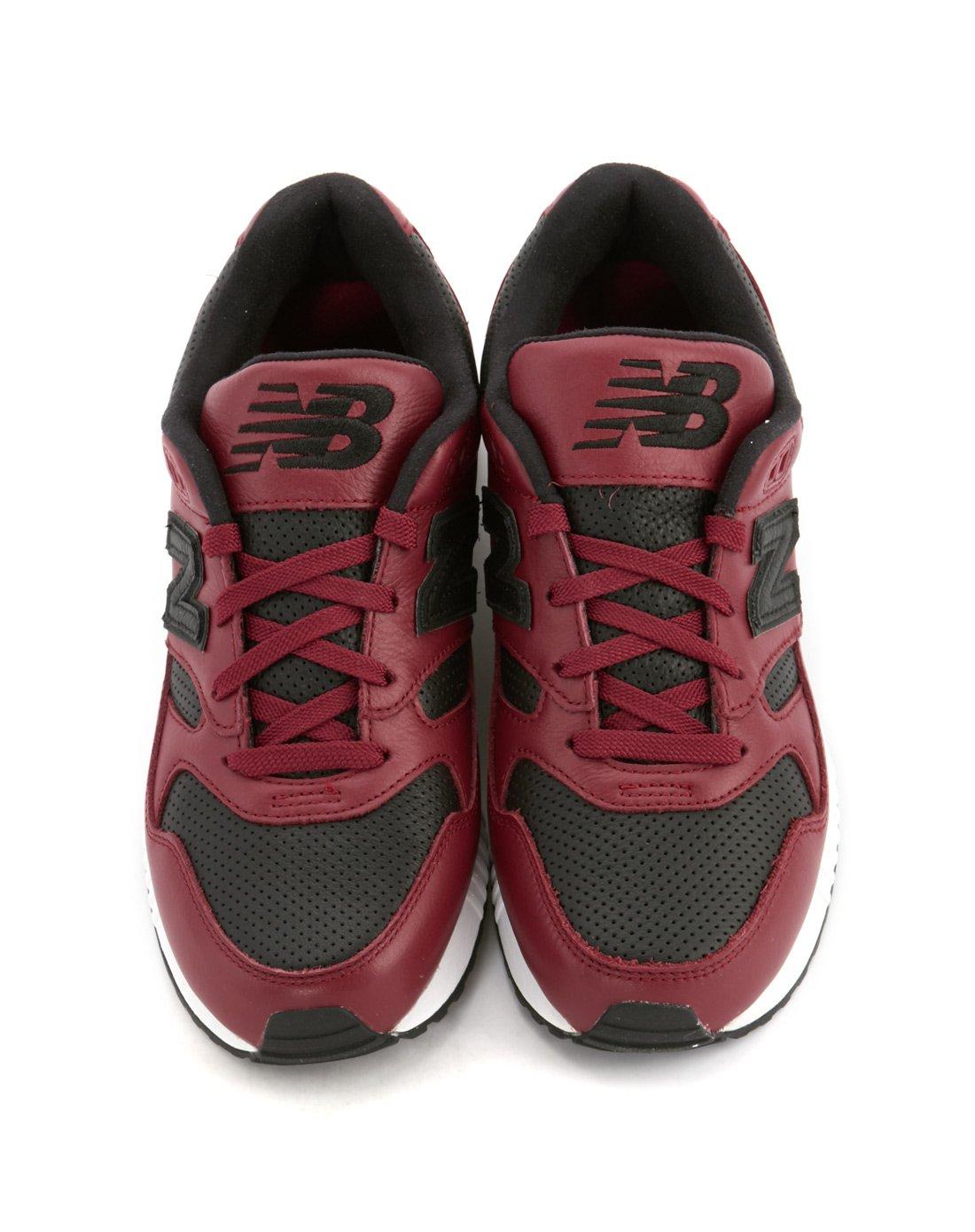 finest selection d76d9 1047c New BalanceNew balance 530系列男款黑红运动鞋M530VTB_唯品会