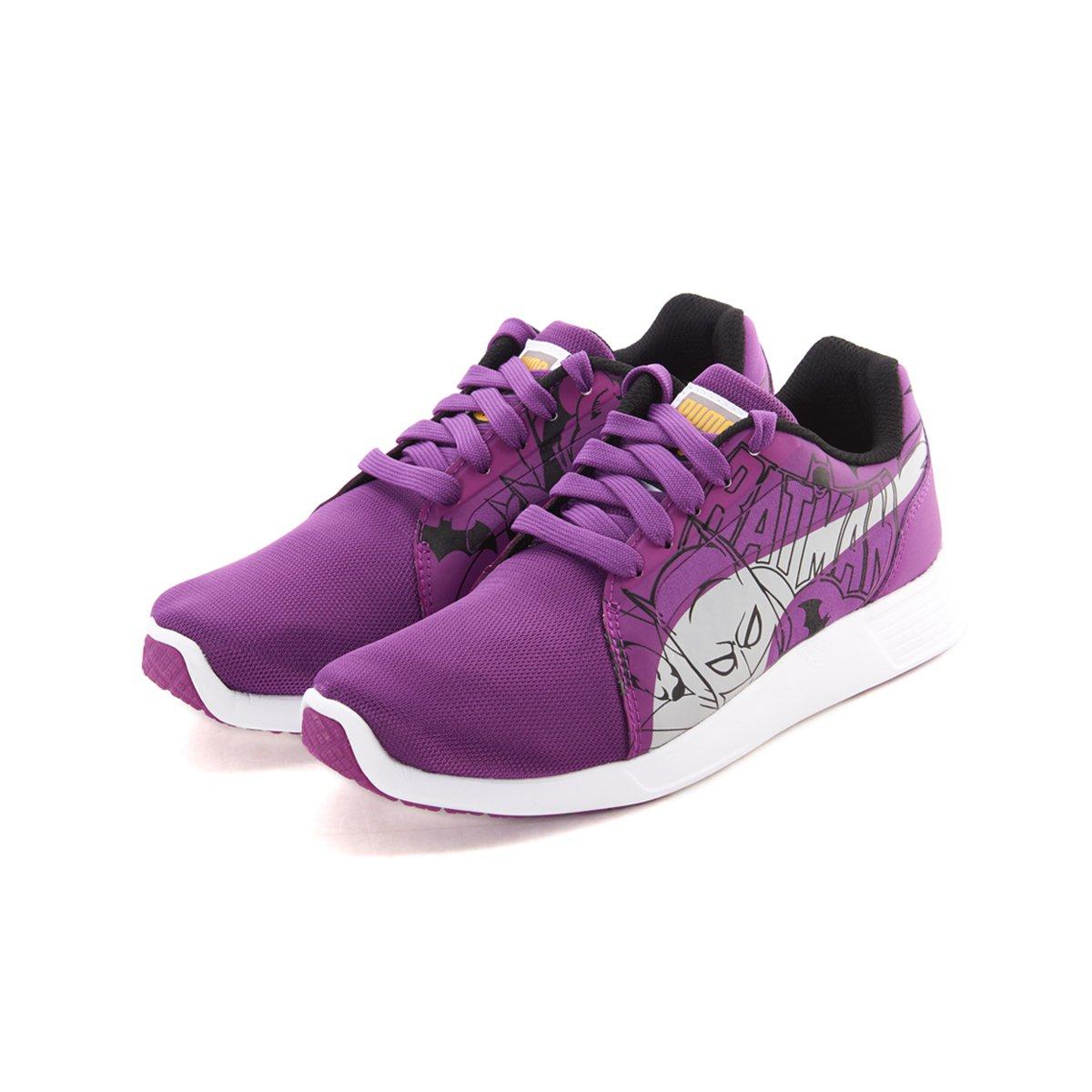 PUMA 彪马 蝙蝠侠 中性中大童运动鞋 紫色 +凑单品