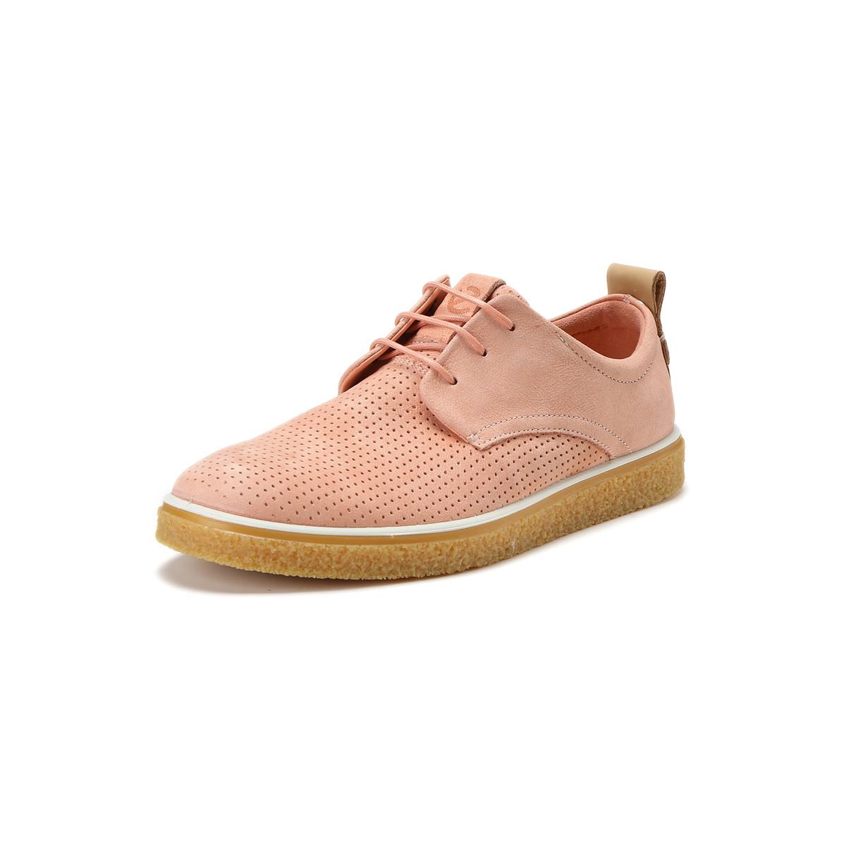 ECCO 爱步 Crepetray 酷锐 打孔版 系带女式休闲鞋 ¥359包邮 3色可选