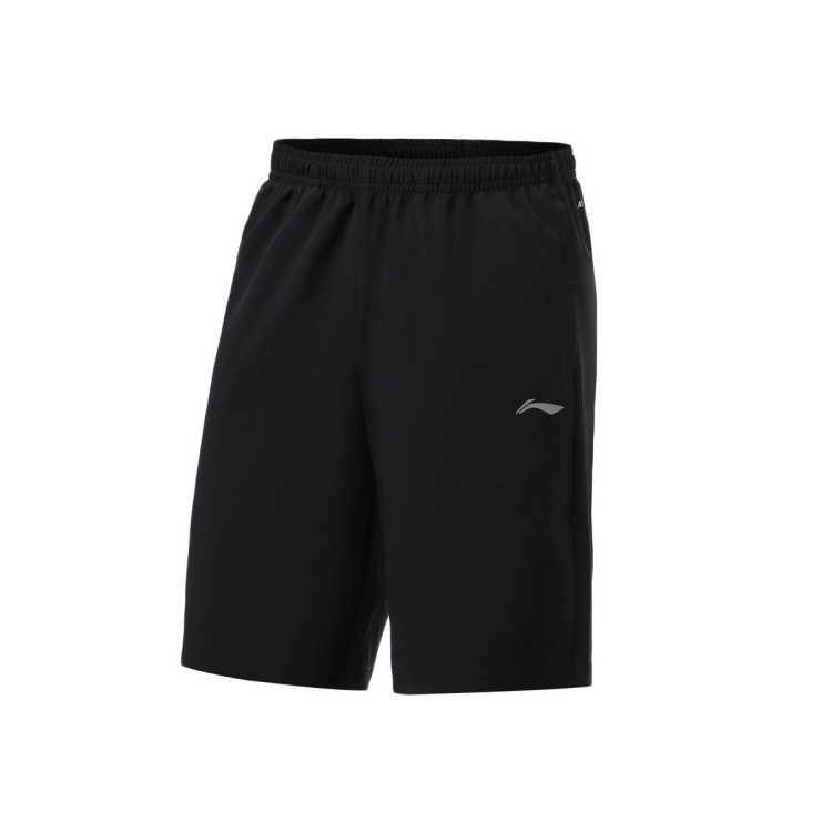 短裤运动裤男裤子男AKSR525反光速干凉爽简约百搭透气