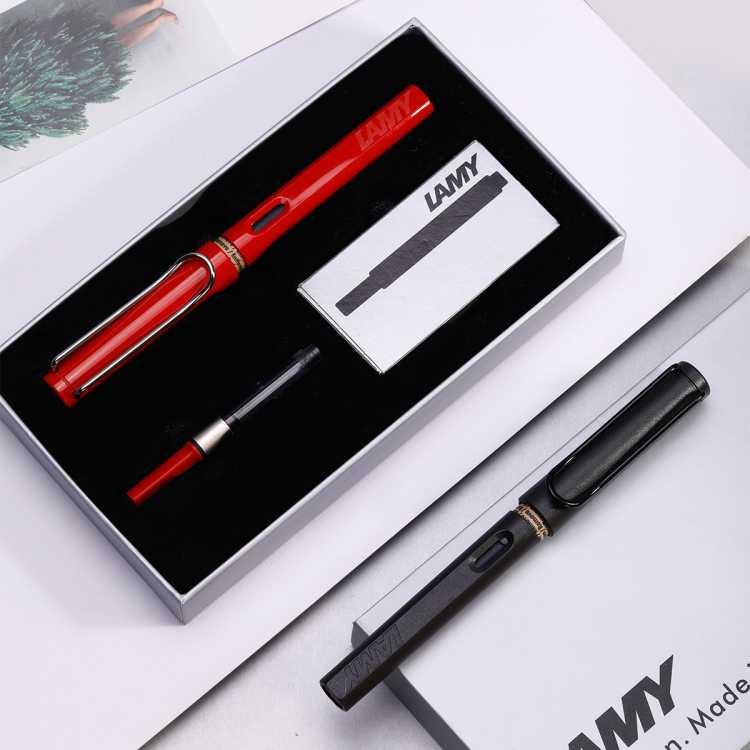凌美狩猎者墨水笔礼盒签字笔进口钢笔学生文具礼物