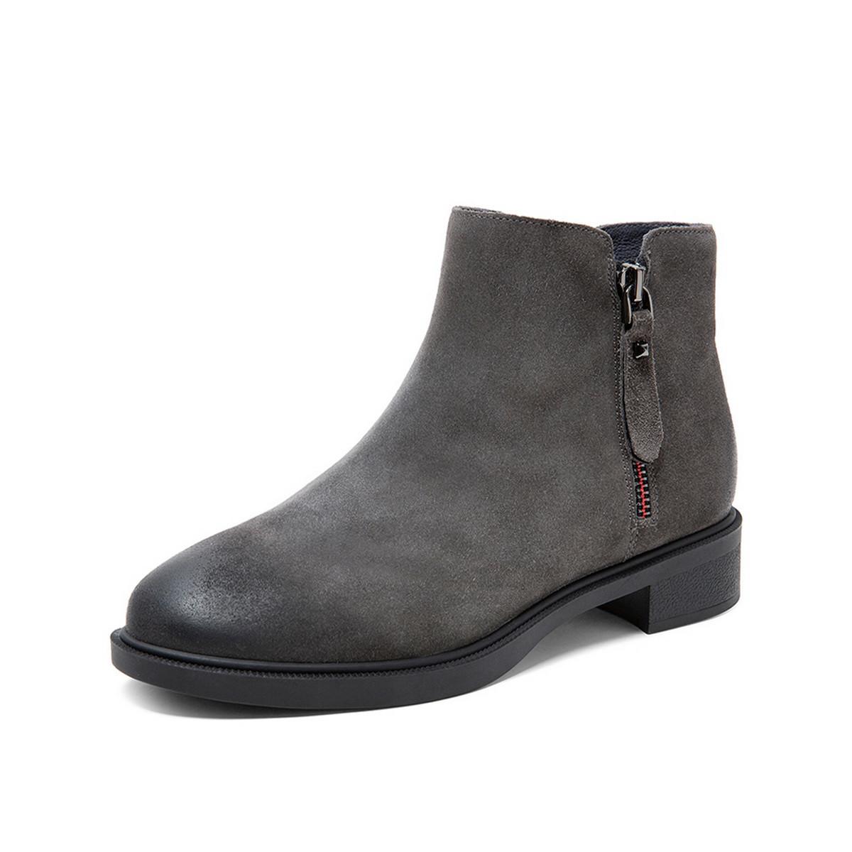 148元包邮 TEENMIX 天美意 女士短靴 CBE50DD9