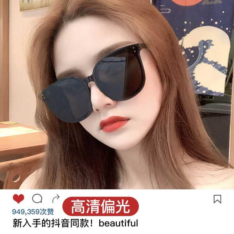 墨镜女太阳镜女防紫外线偏光驾驶眼镜太阳镜墨镜男偏光太阳镜女