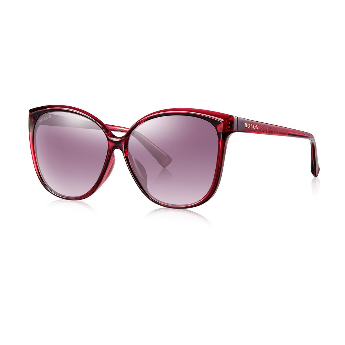 【人气爆款】明星同款立体线条时尚猫眼修脸太阳镜BL5012