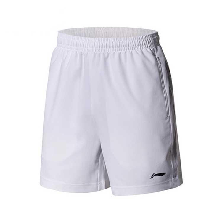 李宁男裤运动裤新款短裤五分裤宽松透气休闲卫裤男