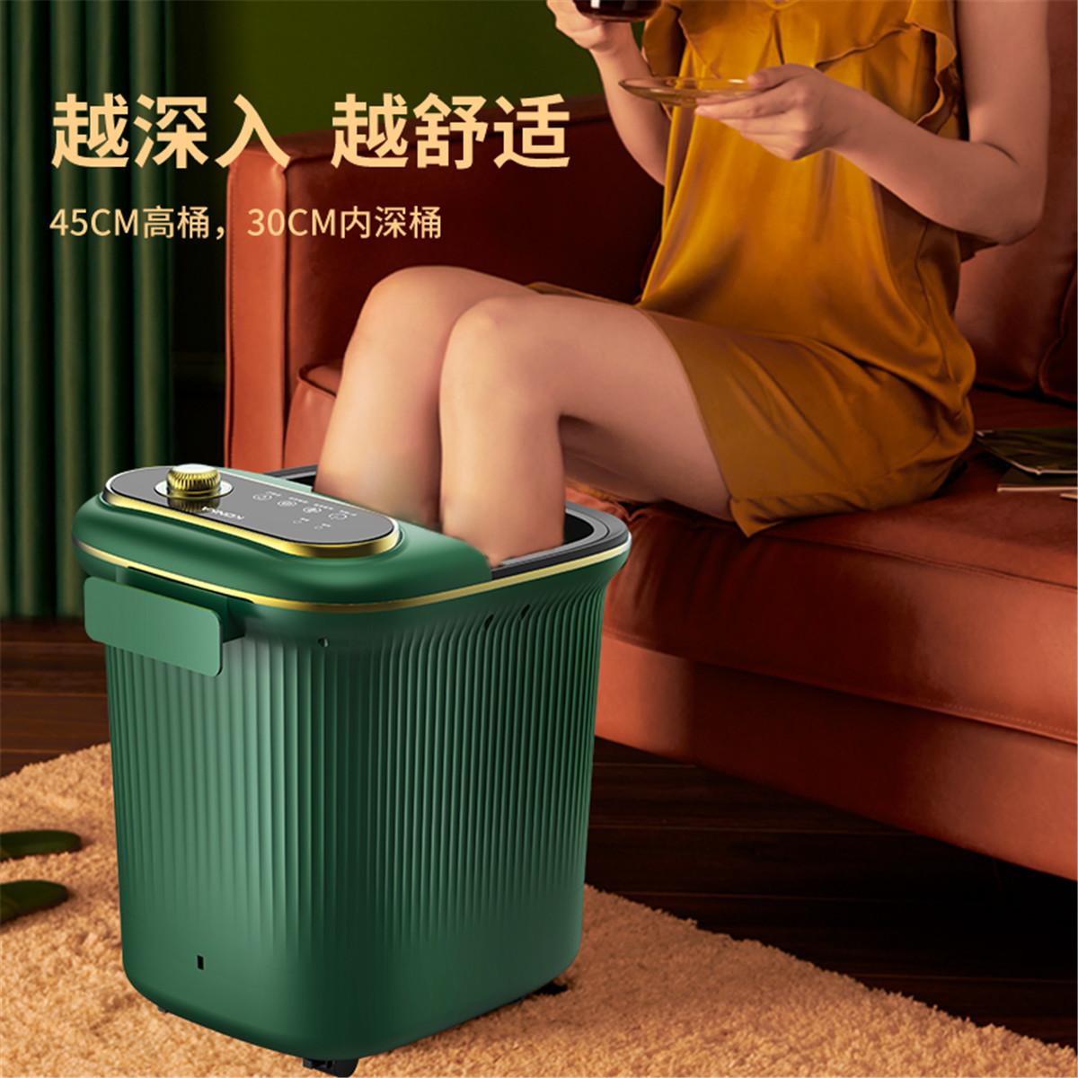 足浴盆全自动按摩洗脚电动多功能深桶加热神器恒温家用泡脚桶