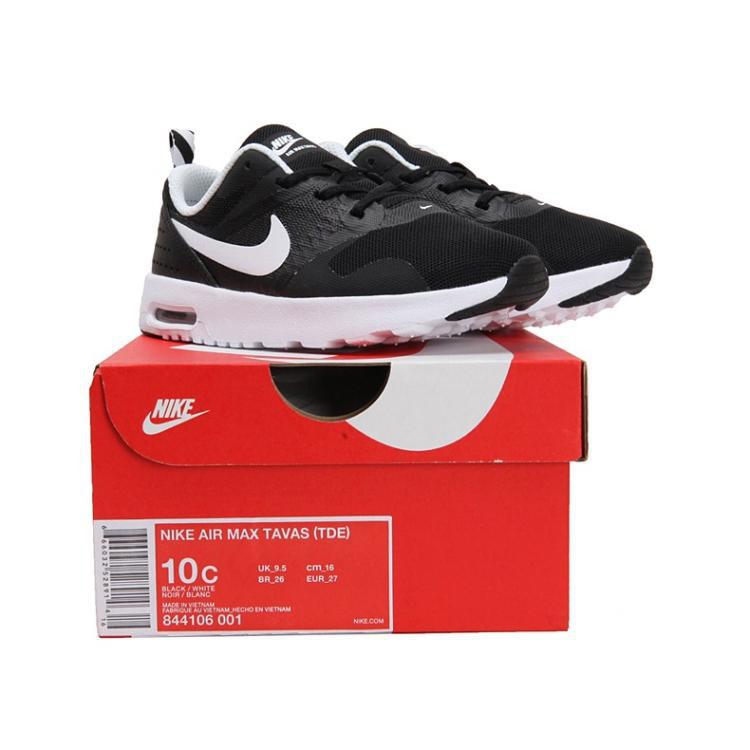 Rabatt Details zu Nike Air Max Tavas BB Schwarz Weiß 844106